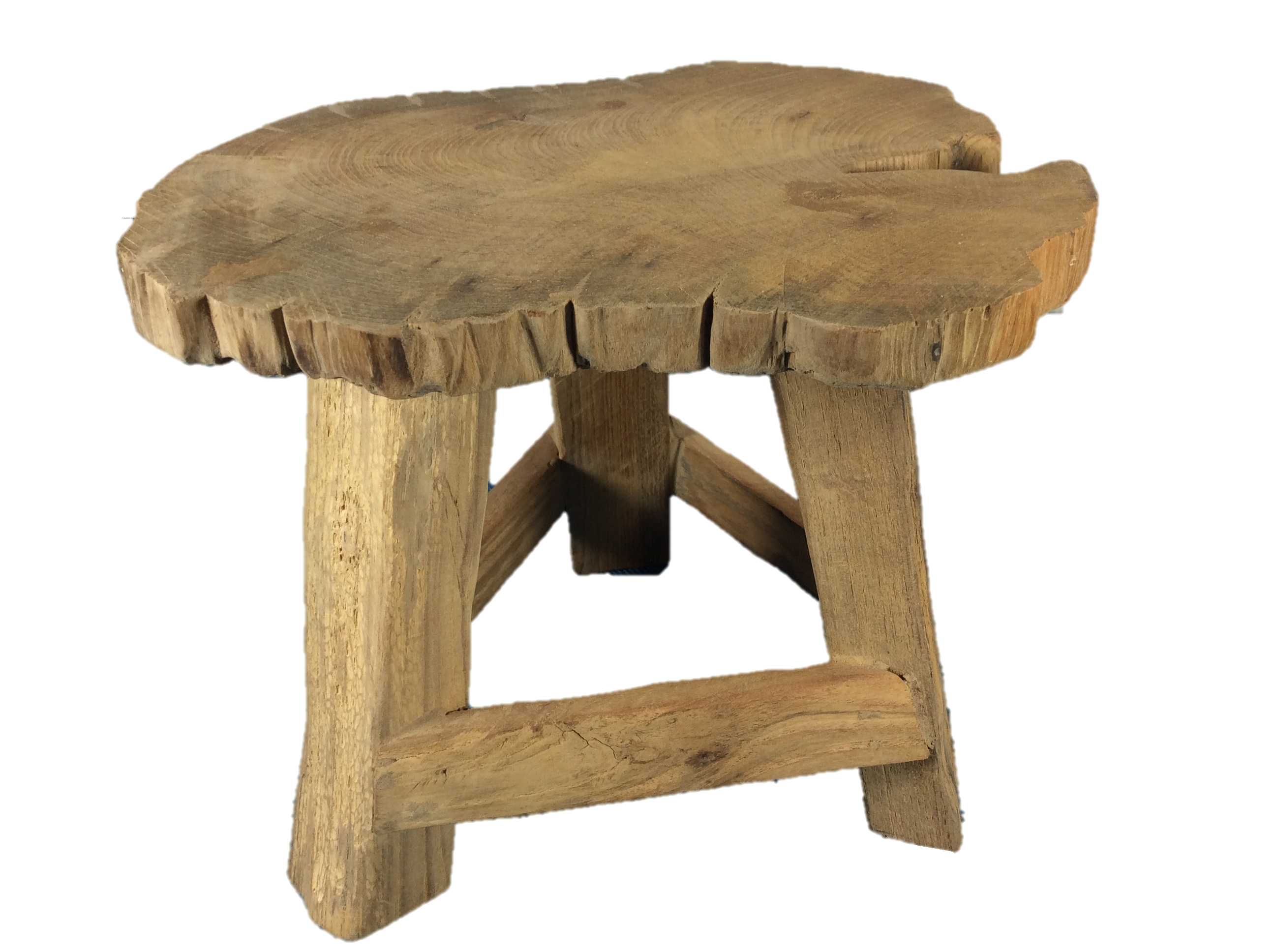 Small Teak Stool Or Stand Akha
