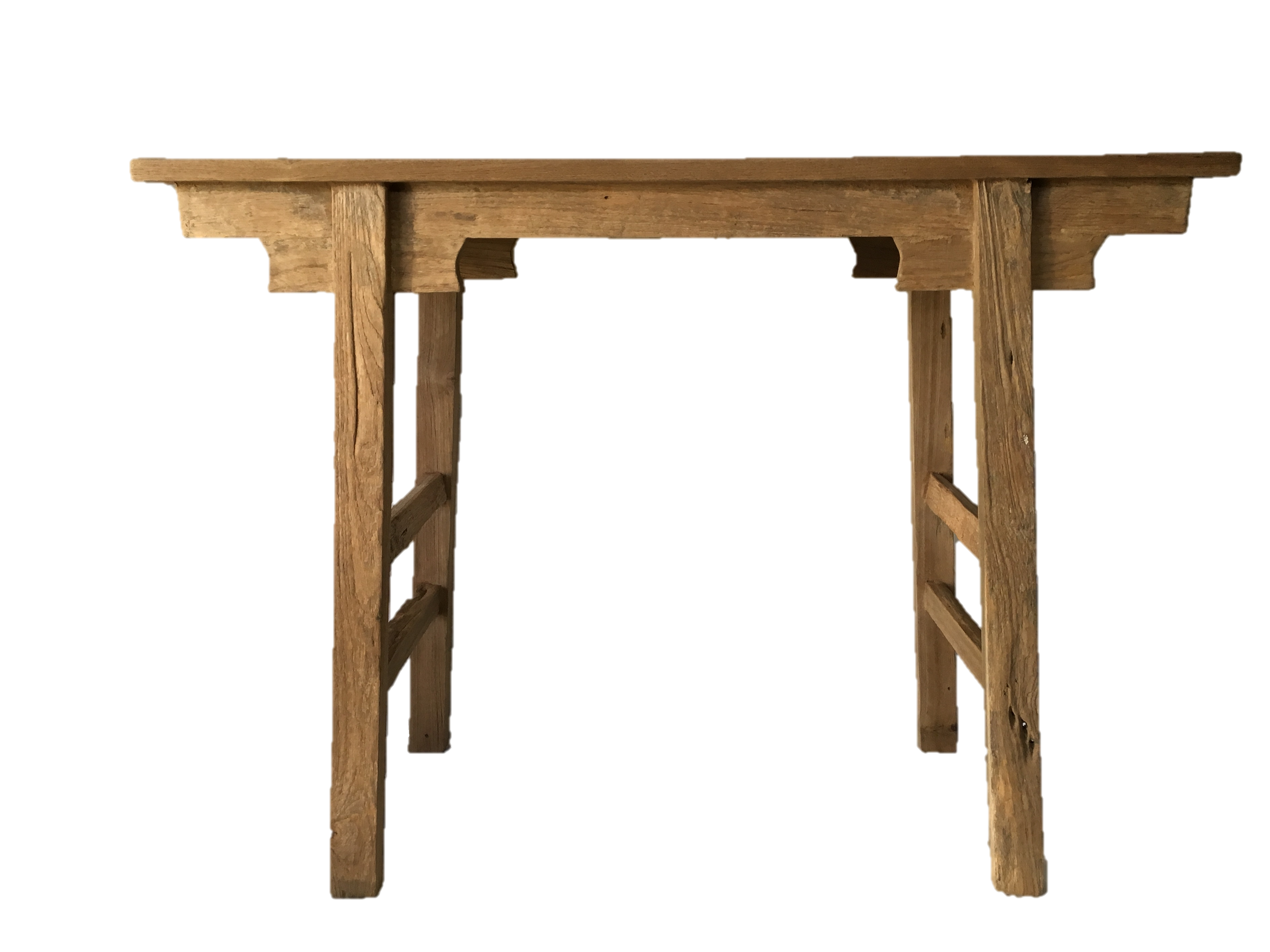 Reclaimed teak hall table console display bar akha for What is console